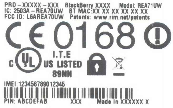 Mystery BlackBerry smartphone pops up at FCC, teases us with REA71UW model number