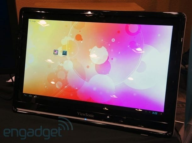 ViewSonic unveils VSD240 smart display running Android 4.1: arrives in April for $499