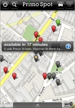 Two apps to help you find a parking spot