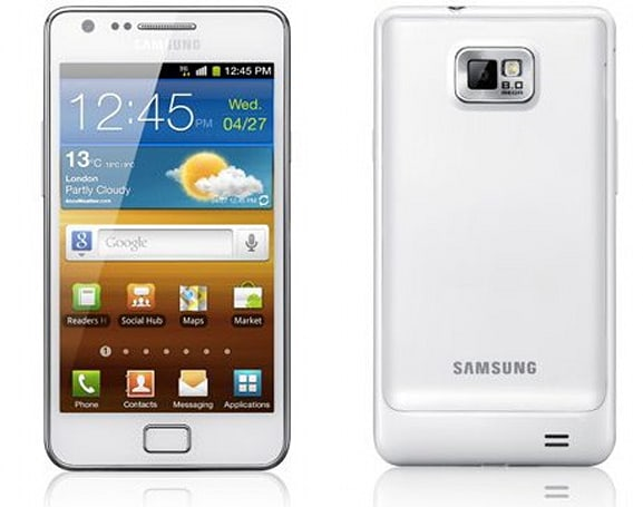 'Official-looking' pic of white Galaxy S II leaks, unicorns right around the corner