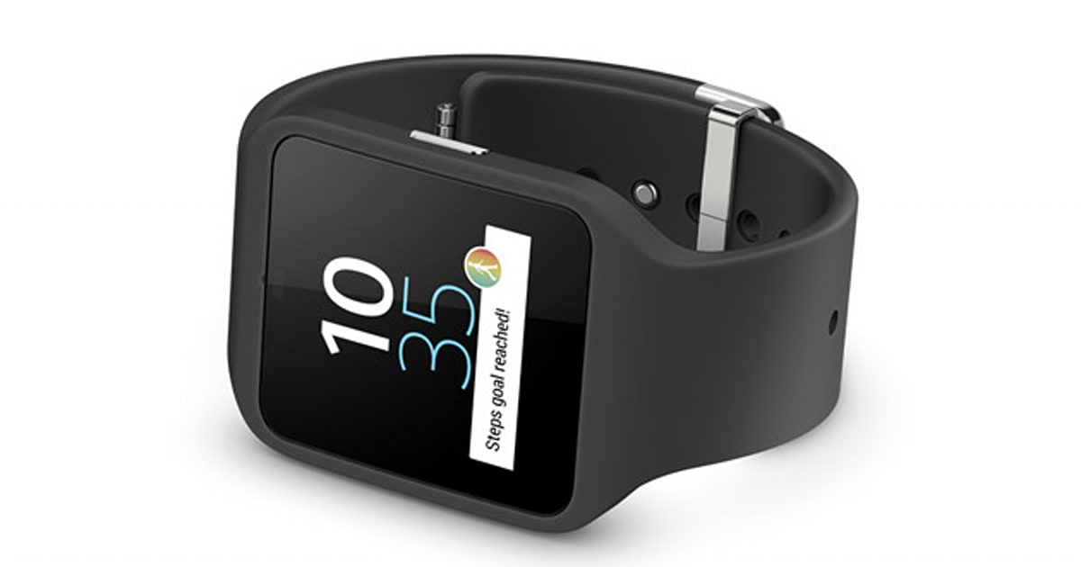 Sony announces the SmartWatch 3 with Android Wear