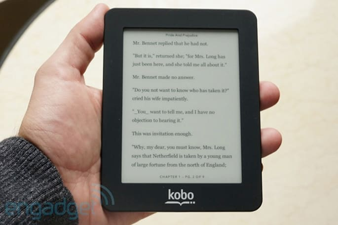 Kobo finally makes its e-readers available through its own site