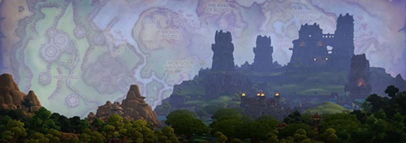 WoW devs discuss environment and zone design