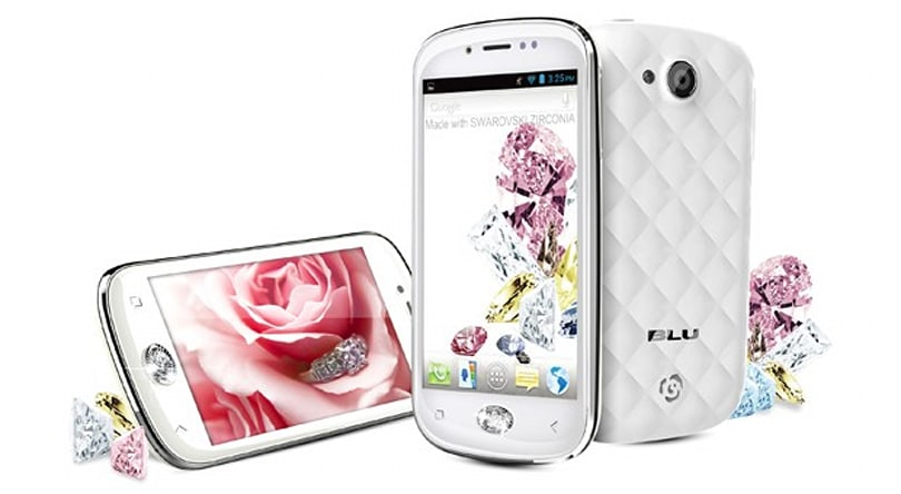 BLU Amour phone comes with crystal home button, gender stereotypes
