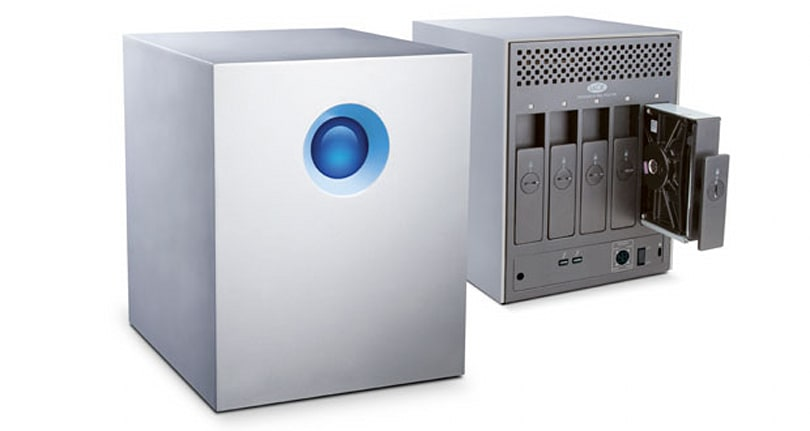 LaCie announces the 5big Thunderbolt series: up to 20TB capacity starting at $1,199