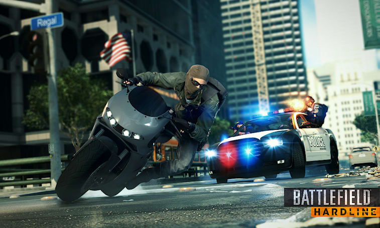 Playdate: Engadget plays the 'Battlefield: Hardline' beta on PS4! (update: game over!)