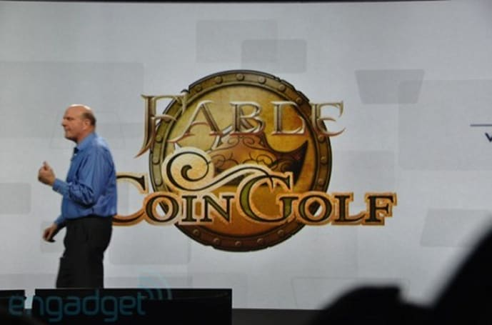 Fable Coin Golf, Game Room coming to Windows Phone 7