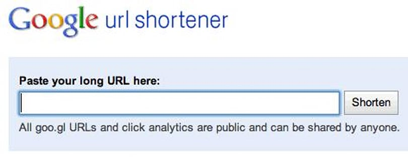 New Goo.gl URL shortener API lets third party developers in on the outrageous fun that is Google URL shortening