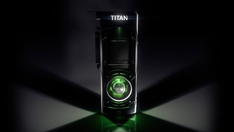 NVIDIA's got a new GPU monster, and it's called Titan X