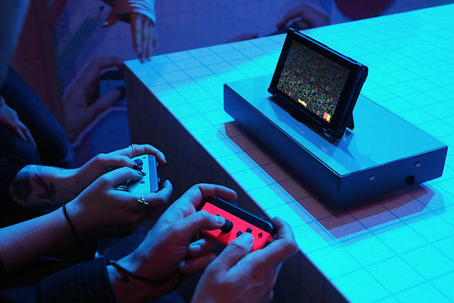 Playing all the games at Nintendo's Switch event