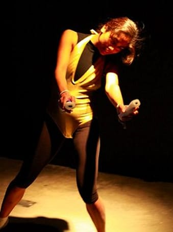 Undulating Flux project uses Wiimotes, Arduino boards to transmit dancer's movements