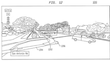 Google patent details augmented reality overlay for sat nav