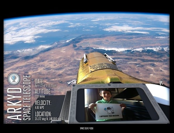 Insert Coin: Planetary Resources ARKYD space telescope will take your selfies from space in 2015
