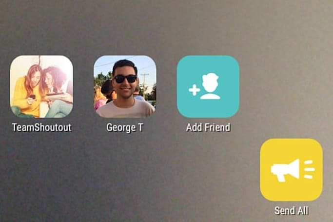 Shoutout takes on Snapchat with a much better design