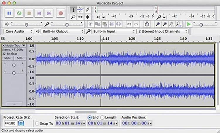 Friday Favorite: Audacity 2.0 delivers free audio editing for Mac