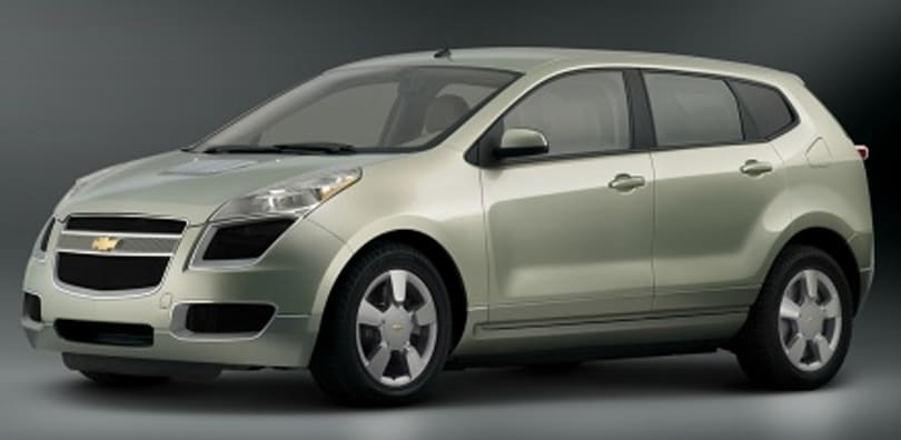 GM prepping Chevy Sequel fuel cell vehicle for 2010