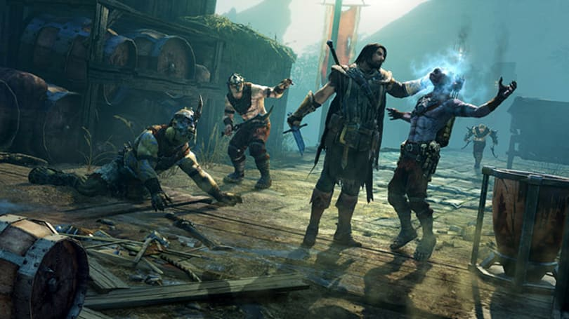 How Shadow of Mordor PS4 stacks up to PC's huge textures