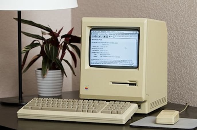 Getting a 27-year-old Mac Plus onto the web