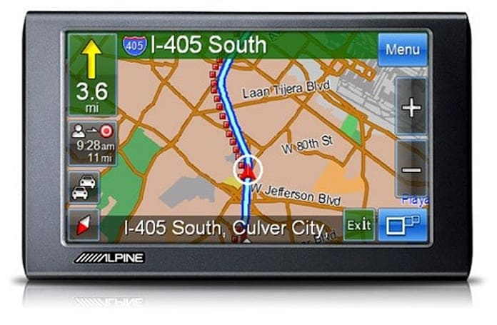Alpine's PND-K3msn GPS adds a little MSN Direct to your road trips
