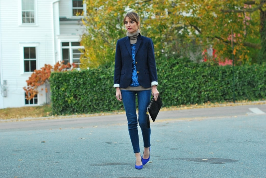 Street style inspiration: the perfect schoolboy blazer