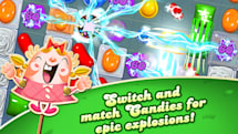 Candy Crush Saga to jeopardize productivity of Windows 10 users