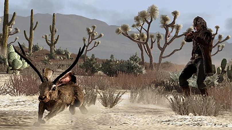 Red Dead Redemption adding free outfits and ... jackalopes