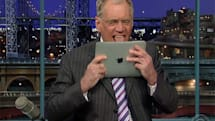 iPad roundup: Letterman licking, Colbert chopping, MobileMe and Remote support