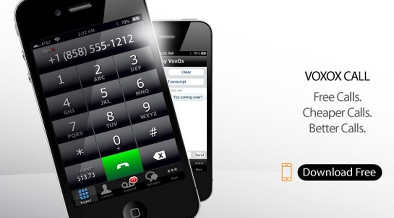 VoxOx Call for iPhone handles your virtual numbers, SMS, and faxes on the cheap