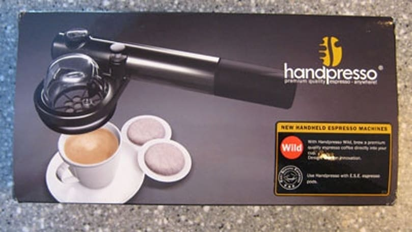 Handpresso gets unboxed: how did we ever get by without?