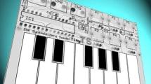 Tiny TS: Dieser Synthesizer ist so klein wie eine Kreditkarte