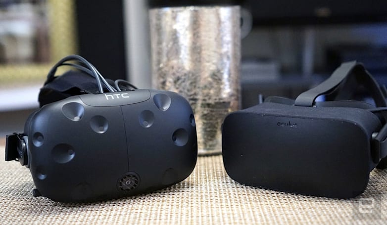 Oculus stops preventing VR games from working with HTC's Vive