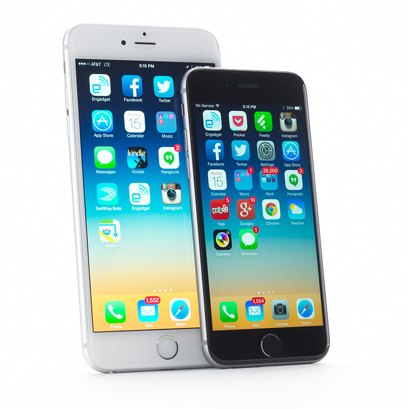 apple iphone 6 review engadget. Black Bedroom Furniture Sets. Home Design Ideas