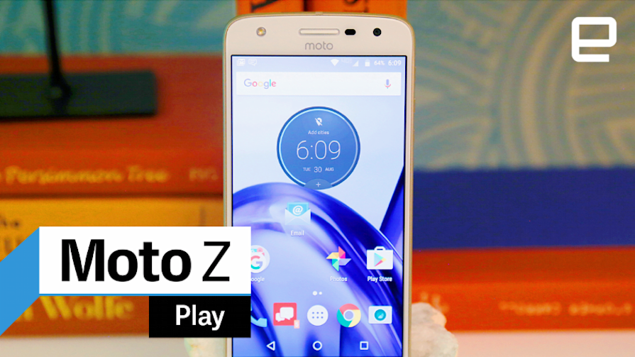 Moto Z Play: Hands-on