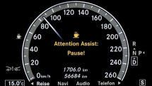 Mercedes' E-Class to get Attention Assist, still won't need assistance in getting your attention