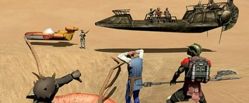 Dredging up the past - the Star Wars Galaxies NGE re-examined