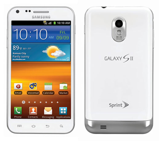 Epic Touch 4G comes out of the dark and into the white, hits Sprint January 8th