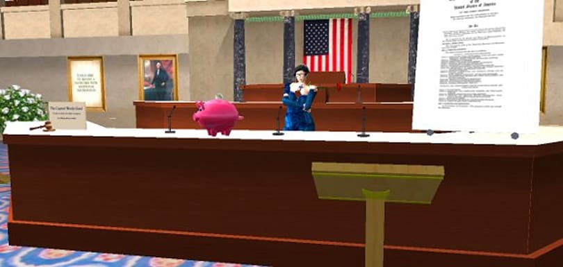 Is Congress the smoking gun behind Second Life's turnaround on adult content?
