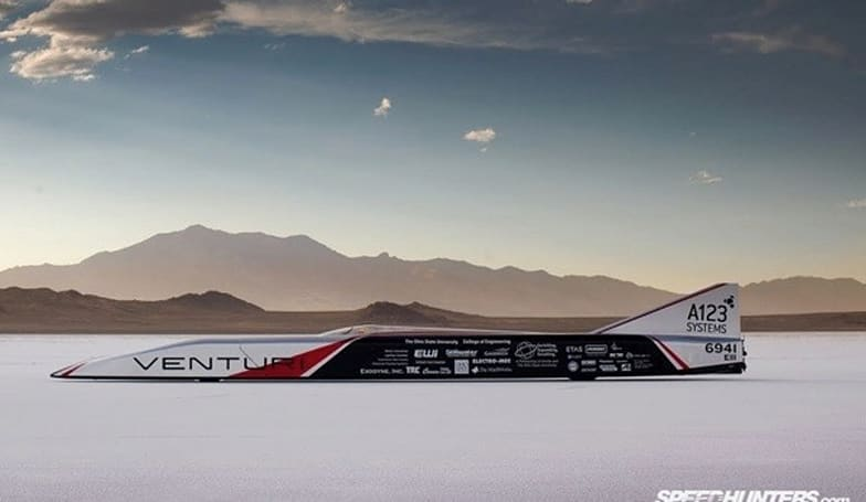 OSU Buckeye Bullet 2 sets new battery-powered speed record