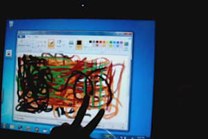 Wacom Multi-Touch Display Tablet Prototype