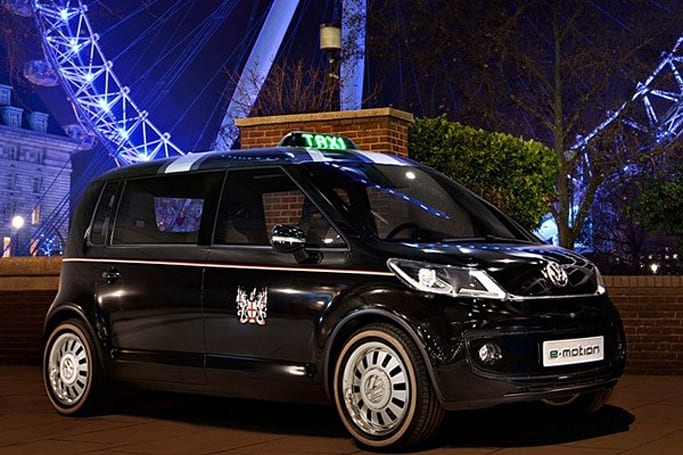 Volkswagen's London Taxi Concept: smaller, prettier, more electric than the real thing
