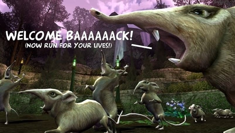 LotRO's Welcome Back Weekend salutes the halcyon days of the spring festival