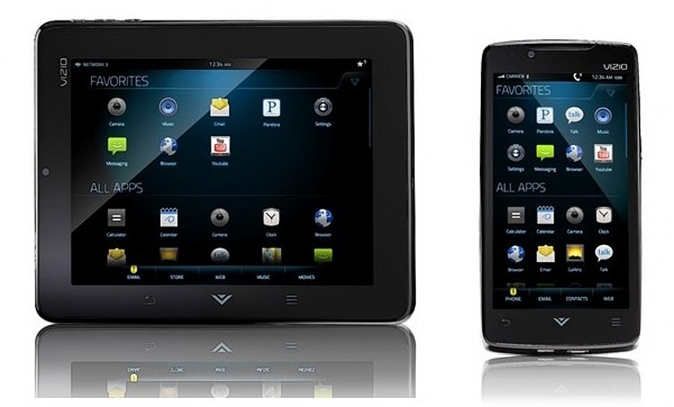Vizio reveals Via Tablet and Phone with Android, sub-$300 3DTVs ahead of CES (update: pic!)