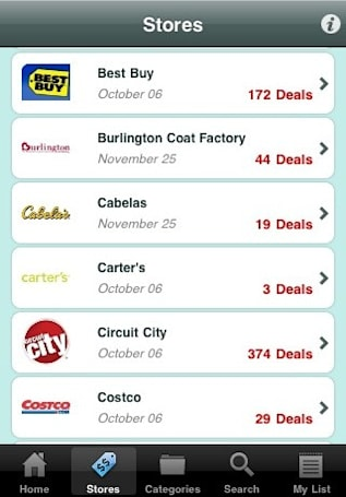 TGI Black Friday app helps you find Black Friday sales