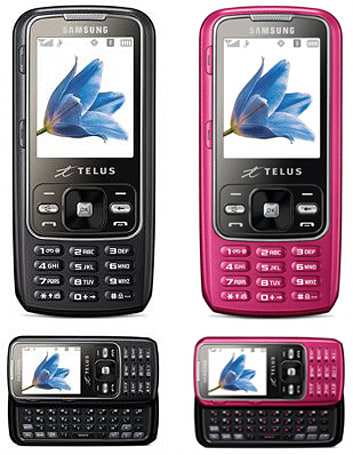 Samsung's Slyde m540 comes to Telus in grey and pink