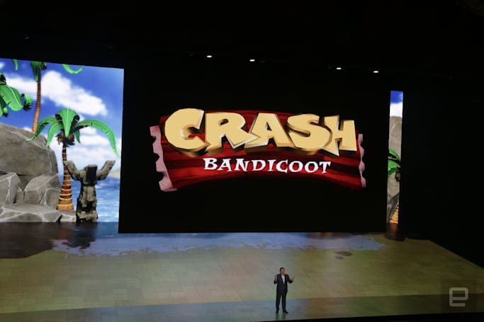'Crash Bandicoot' is back