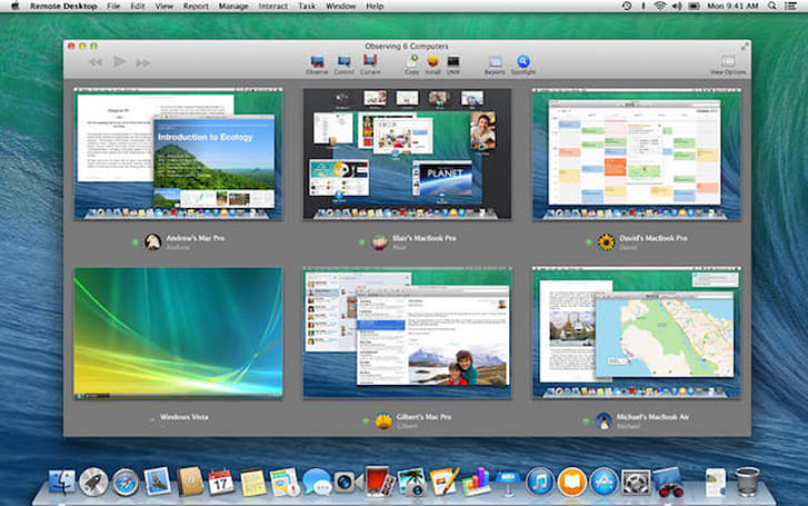 Apple Remote Desktop updated with Yosemite support