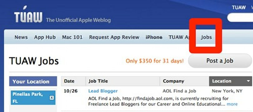 Need a Mac or iPhone developer? TUAW job boards are here!