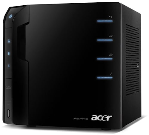 Acer launches easyStore Home Server: 1TB expandable storage for $400