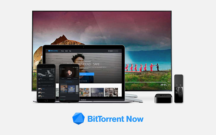 BitTorrent Now is an open, ad-supported music and video platform