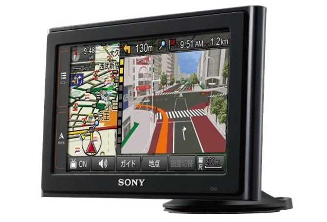 Sony debuts 6.1-inch NV-U3DV navigation unit